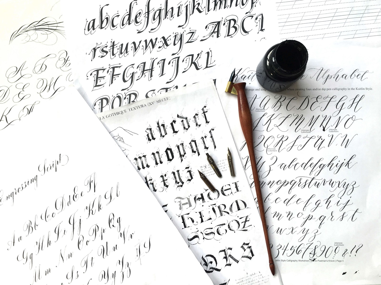 Weekly Design Reading List 9 Art Of Calligraphy Font