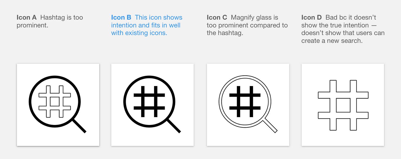Instagram Concept: Hashtag Filters