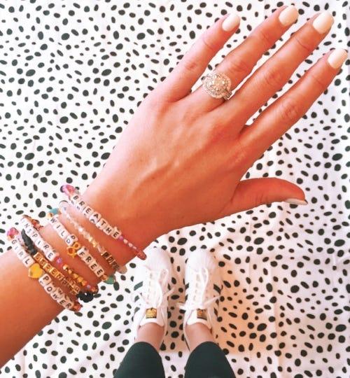 Little Words Project bracelets, SOURE: Sierra Gronwaldt