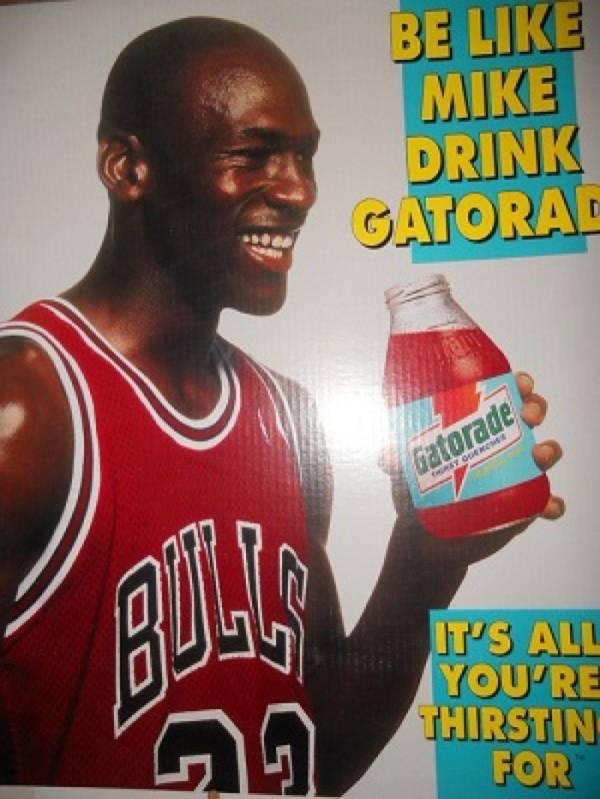 4dcd1d2260e Video Gatorade' 50th Anniversary Features Kane And Jordan · Be Like Mike  Gatorade Commercial · Be Like Mike Gatorade Commercial · Mike Kaelyn Myers  Medium