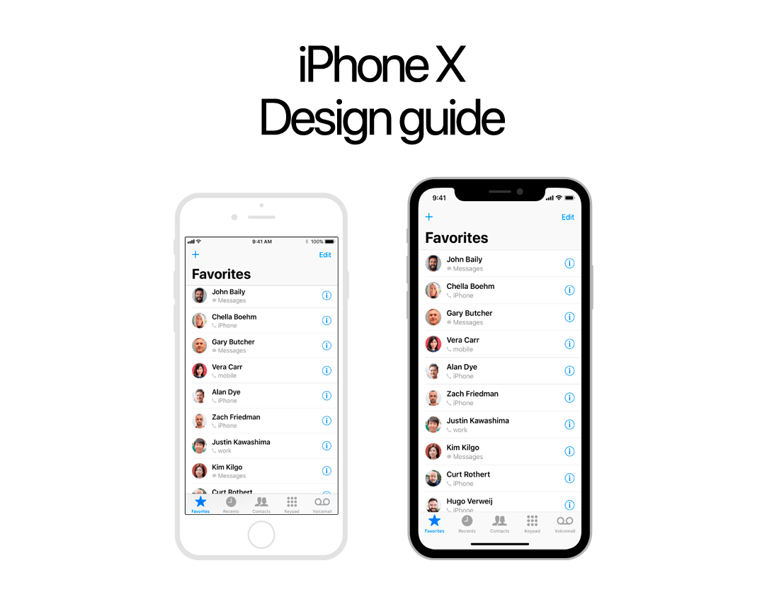 Ready to design for iPhone X?