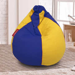 What Size Bean Bag Chair Do I Need Sport Brella Beach How Select The Of A Urbanloom Medium Classic Teardrop Design In Two Colours Image Courtesy Www