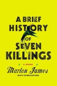 Marlon James book cover
