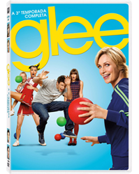 DVD Glee 3 copy