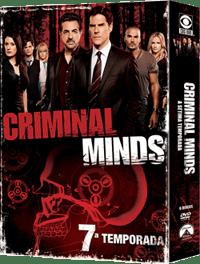 DVD Criminal Minds 7 copy