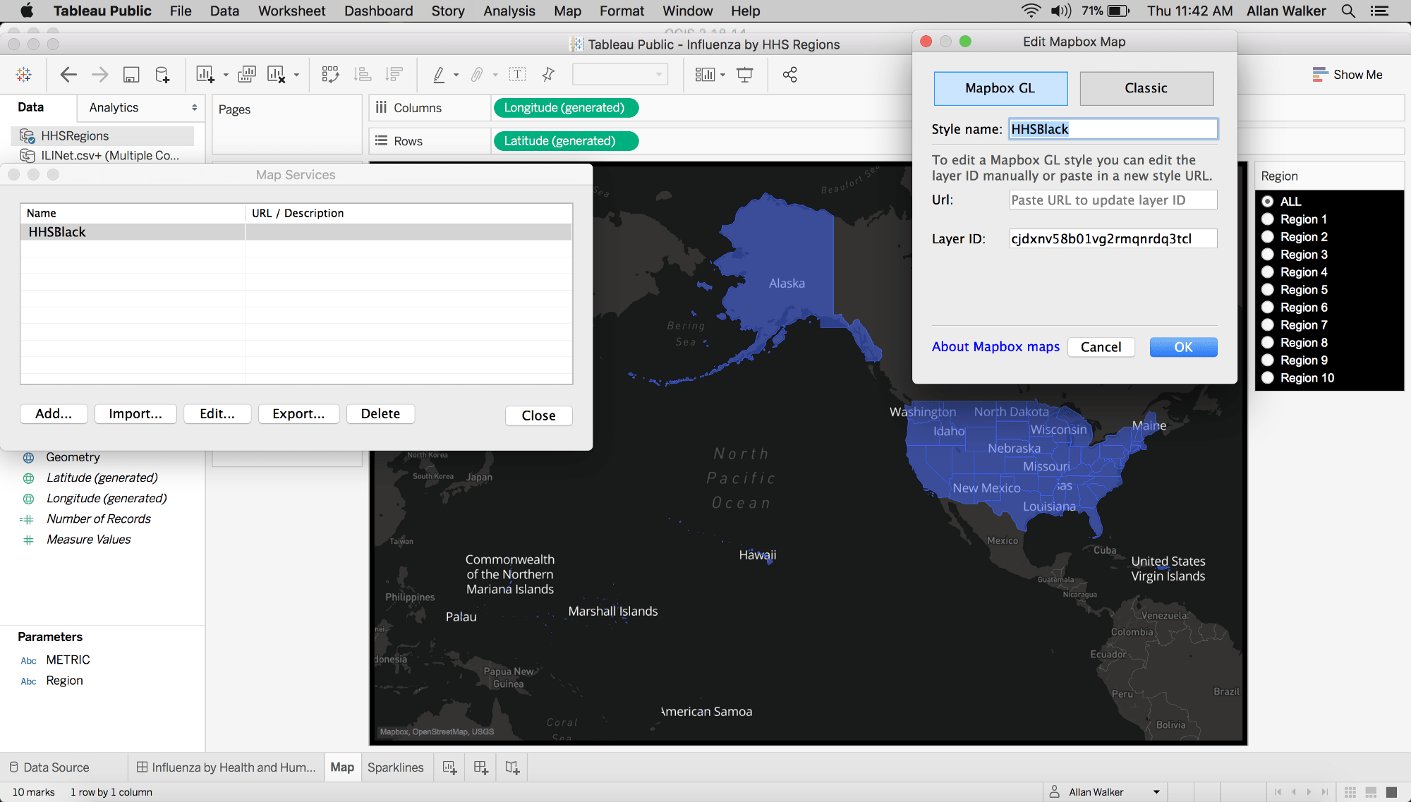 Dashboards For Healthcare Resource Planning With Mapbox