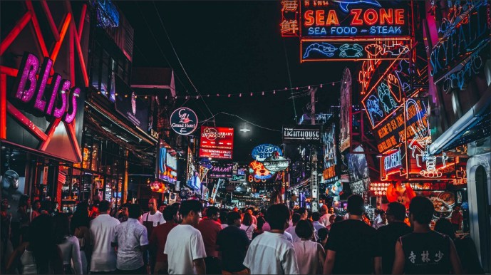 Image result for walking street pattaya