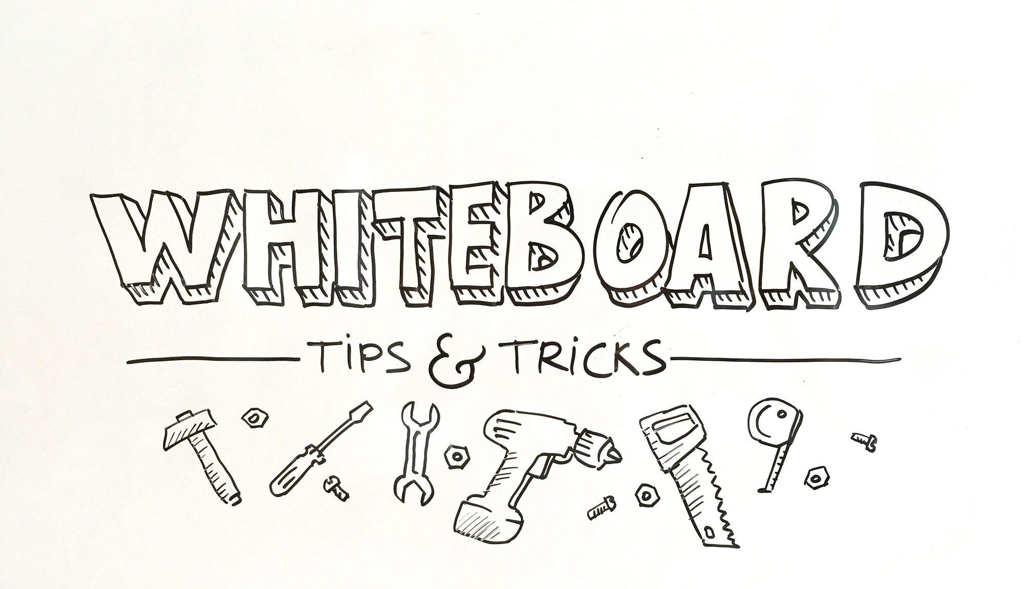 Whiteboard tips and tricks – graphicfacilitation