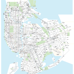 New York City Subway Diagram Hotpoint Aquarius Tumble Dryer Wiring Subways And Buses All On A Single Map Streetsblog Covers Lines