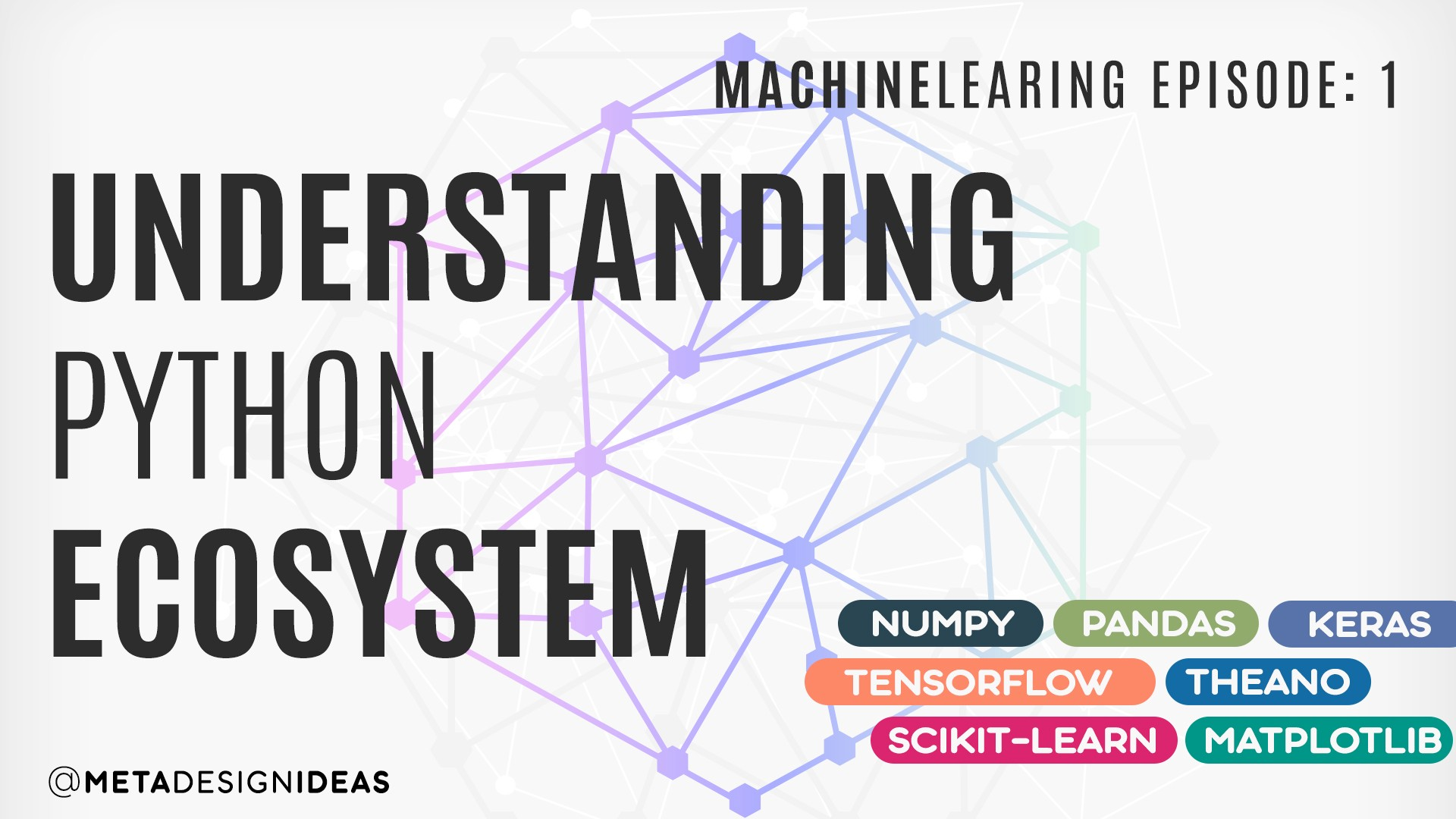 Exploring Python Ecosystem for Machine Learning Things