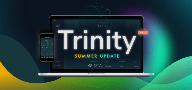 IOTA Trinity Wallet desktop and mobile graphic