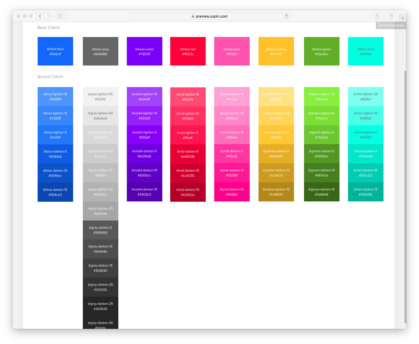 color combinations for diagram 1994 chevy truck wiring design system sprint 2 one palette to rule them all uxpin