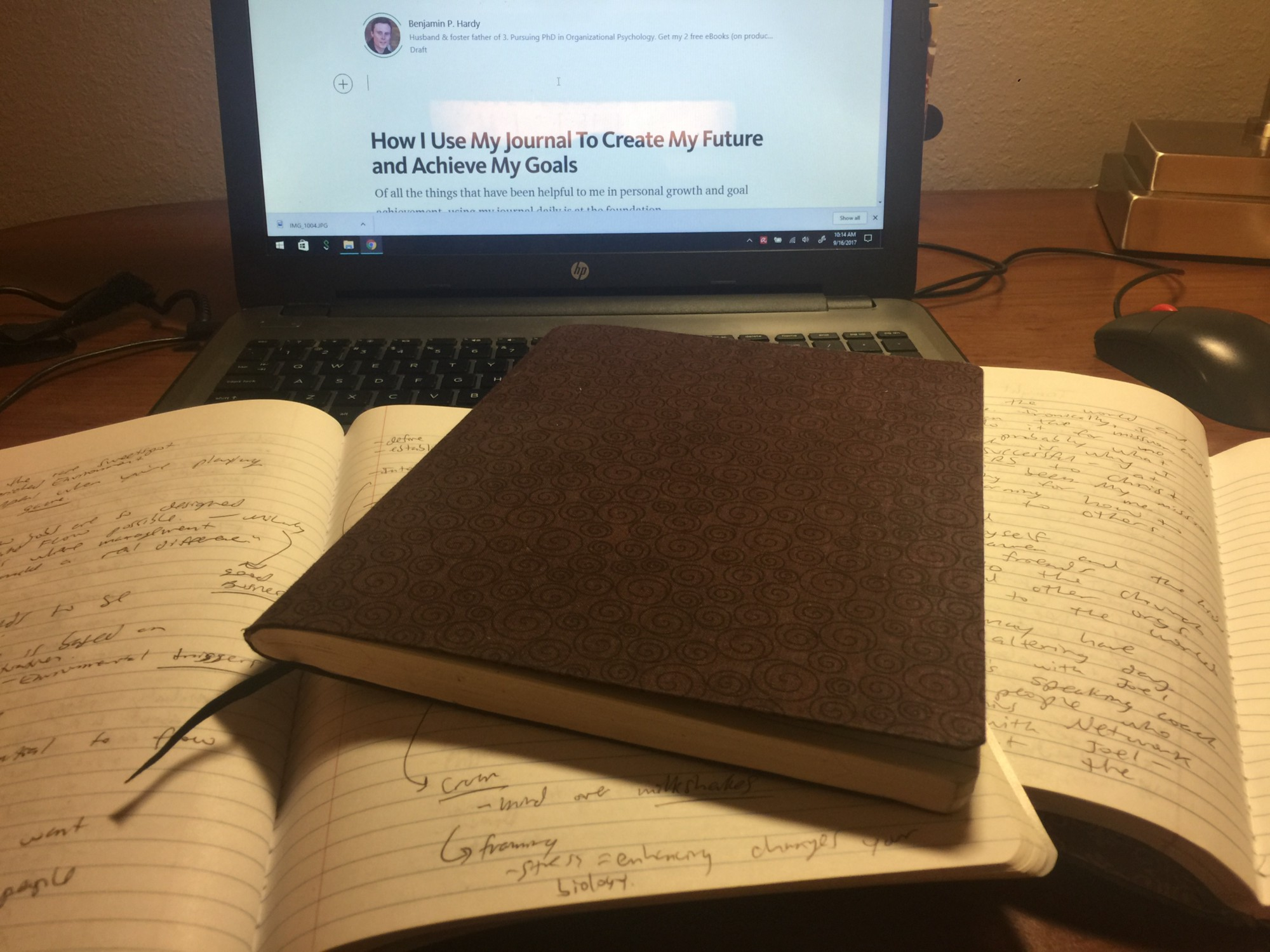 How I Use My Journal To Create My Future And Achieve My Goals