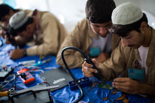 Making progress in Afghanistan — Several People Are Typing — The ...