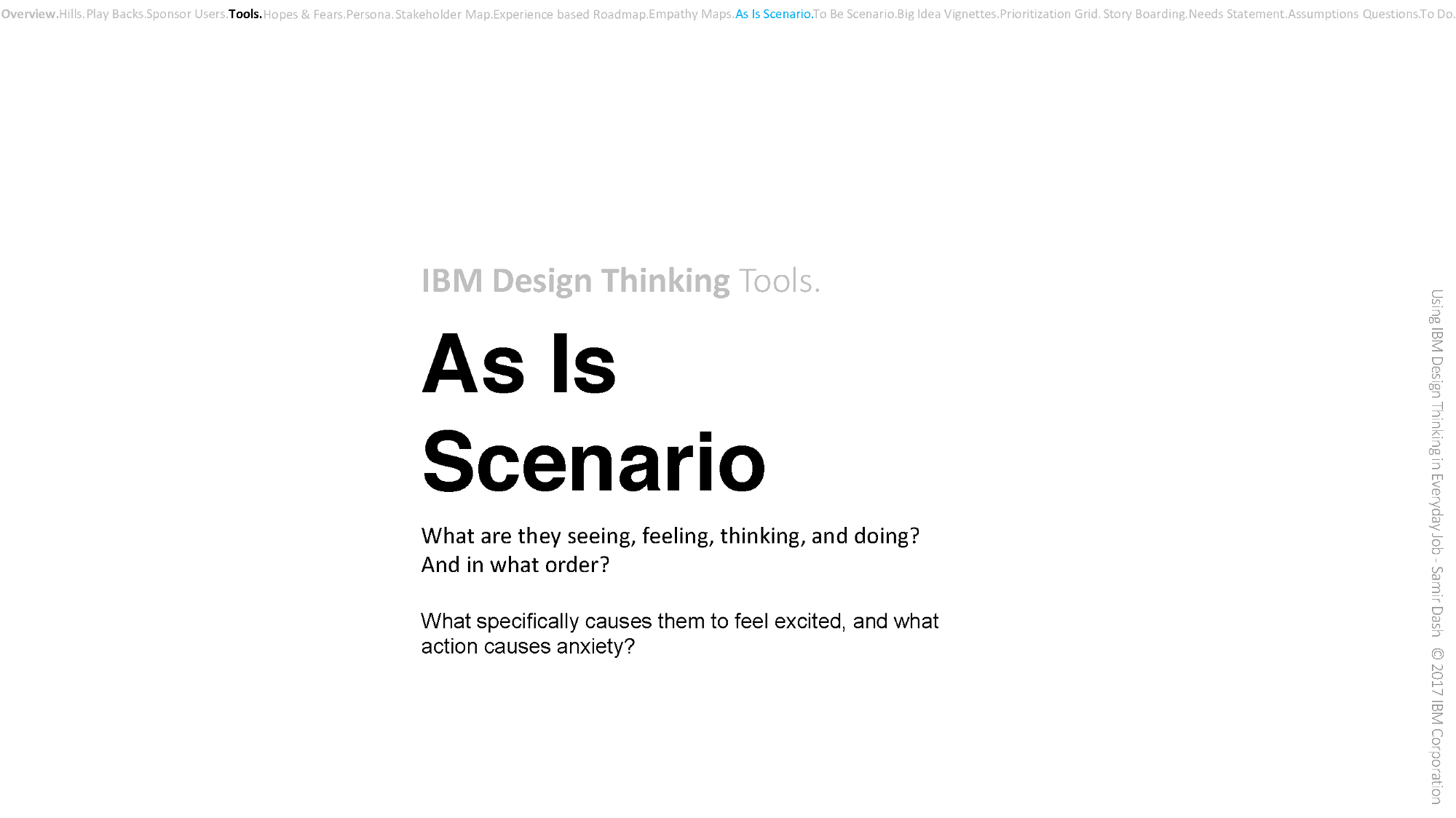Quick Guide/notes on the IBM Design Thinking …