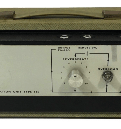 a grampian spring reverb as used by lee perry in the black ark studio this one sold last year by soundgas [ 1982 x 729 Pixel ]