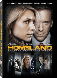 homeland dvd season 2