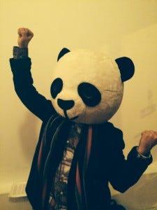 panda bear dance