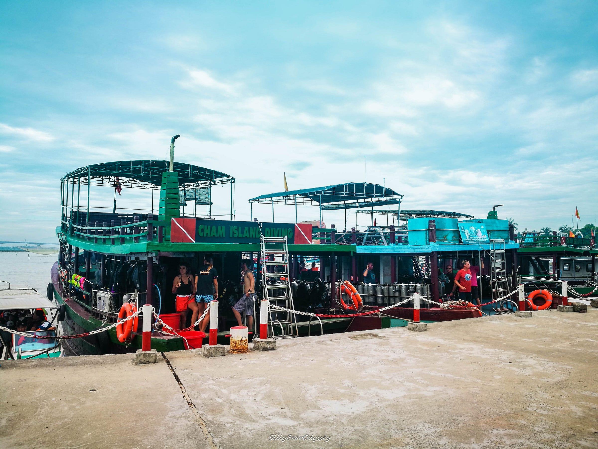 【峴港。會安】(2)重臨馬爾代夫水底。占婆島 Cham Island 浮潛記 – 傻仔熊遊世界 – Medium