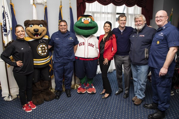Red Sox Host Appreciation Luncheon Coast Guard