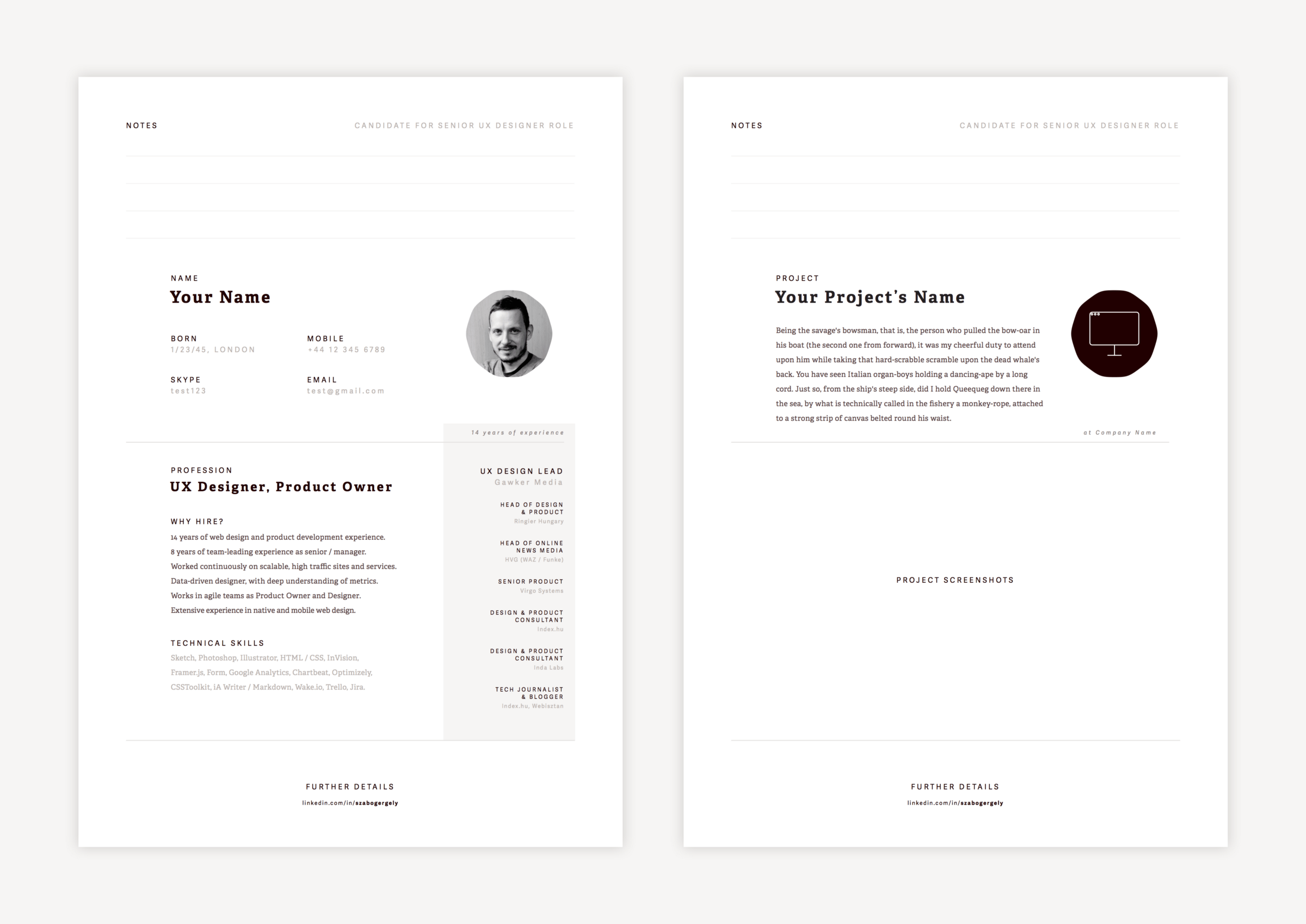 How To Create A Resume Template Creating Resume In Sketch Design Sketch Medium