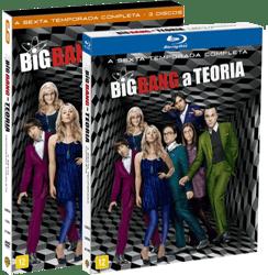 dvd the big bang theory s6