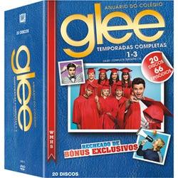 DVD Glee 1-3
