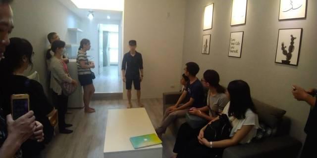 包租公養成班新裝潢美屋參訪/房地產教練Ben神、好租一二三經理陳柏元