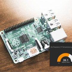 Tim Water Temperature Gauge Wiring Diagram Bull Origami How To Build A Raspberry Pi Thermometer You Can Access Anywhere In This Tutorial I Ll Show An Internet Connected That Shows The Ambient On Pretty