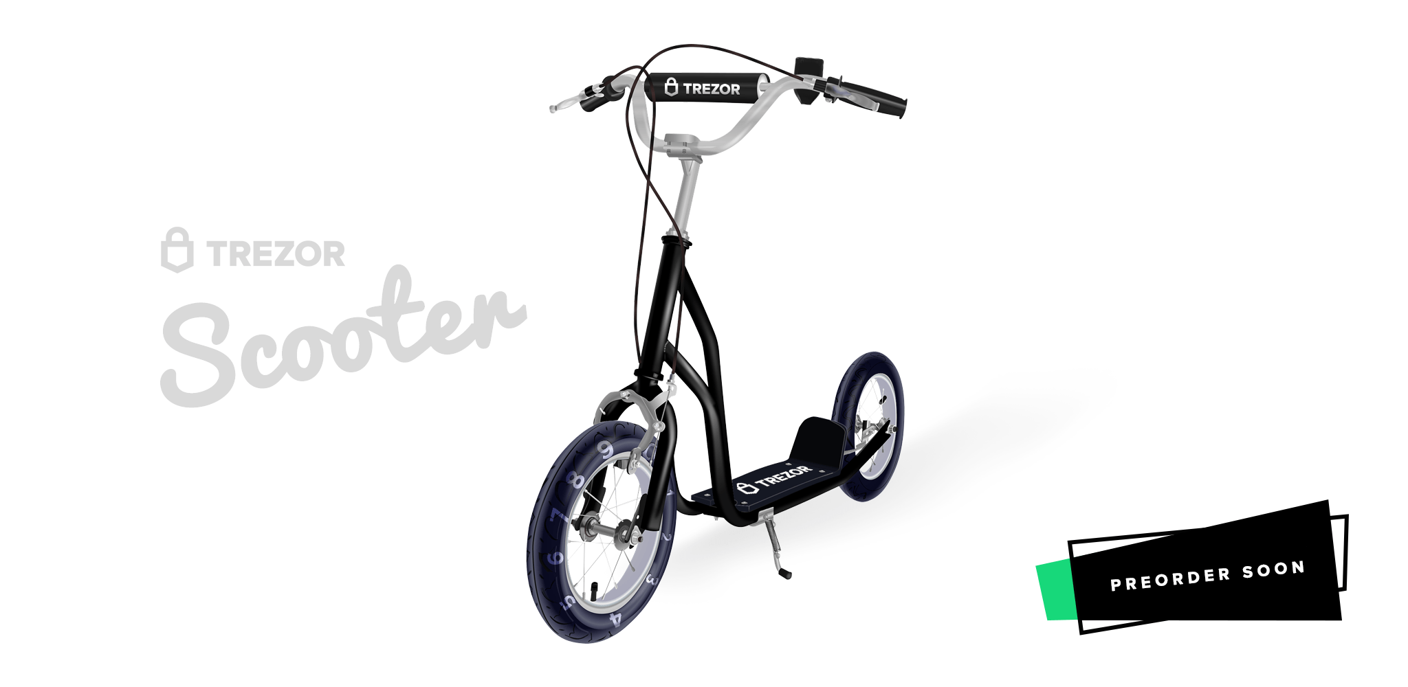 Introducing the TREZOR Scooter