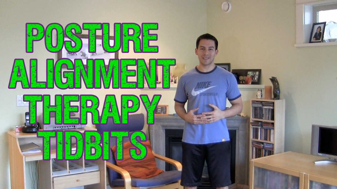posture alignment chair office arm covers therapy tidbits thepostureguy