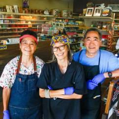 American Marketing Chair Covers Hawaii Black Cover Exploring The Aisles Of Takahashi Market Peninsula S Emporium For Hawaiian Japanese Goods