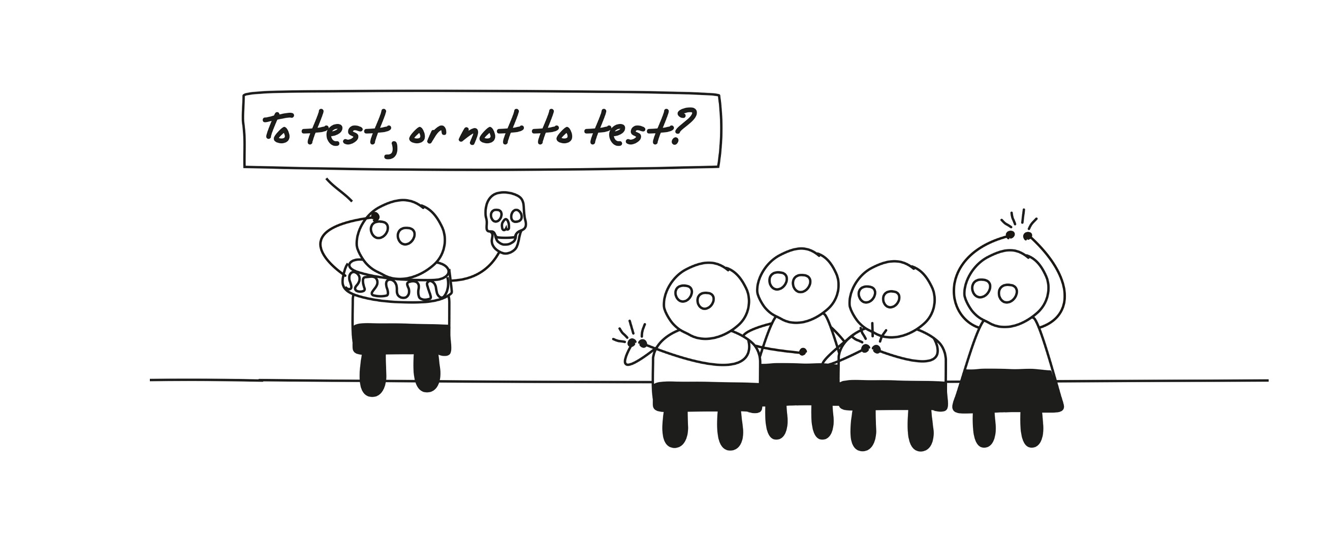 To user-test, or not to user-test? That is the question.