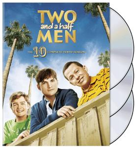 dvd two and a half men season 10