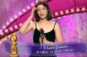 Claire Danes Golden Globe