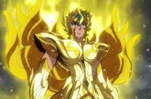 armadura divina de leão Saint Seiya Soul of Gold