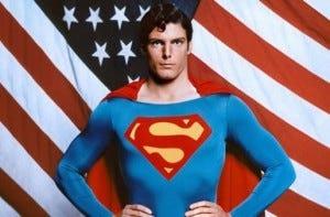 Christopher Reeve que interpretou o personagem nos cinemas entre 1978 e 1987 é até hoje o mais famoso Superman.