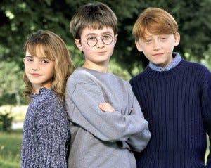 Olha como eram pequeninos...
