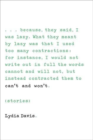 lydia davis book cover