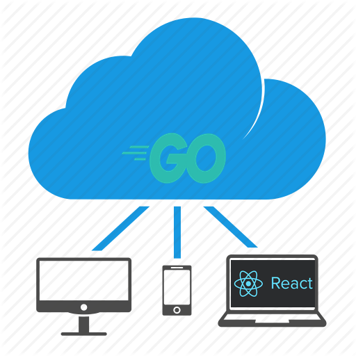 App architecture: go microservices with React frontend