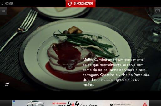 O aplicativo reúne informações e conteúdos extras que complementam a trama apresentada na TV.
