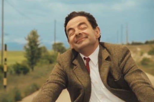 Mr. Bean teve dois filmes, sendo A Férias de Mr. Bean o que mais fez sucesso!