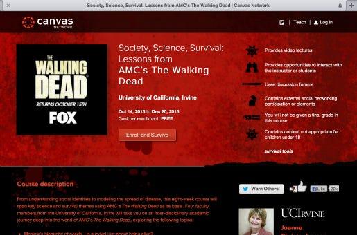 Quer sobreviver ao ataque zumbi ou só mergulhar nessa nova camada narrativa de The Walking Dead? Então se inscreva logo!