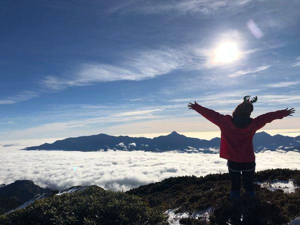 雪山主峰雲海