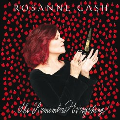 "cover for Roseanne Cash album ""She Remembers Everything"""