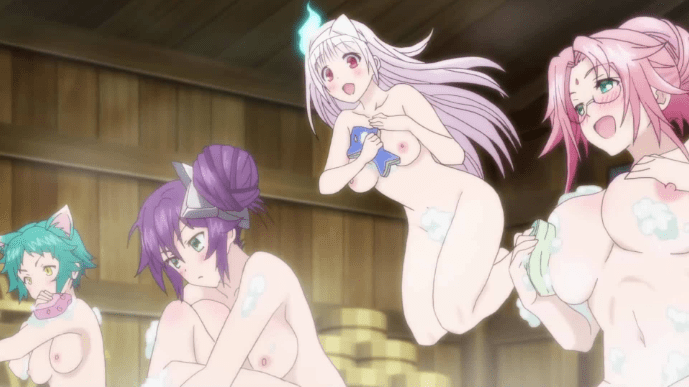 yuuna and the haunted hot springs, anime, preview
