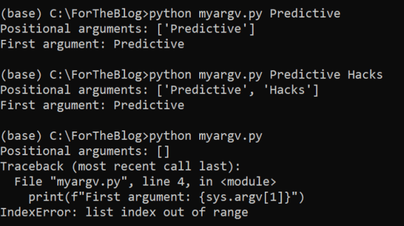 How to Write Interactive PythonScripts 2