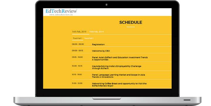 EdTech Schedule