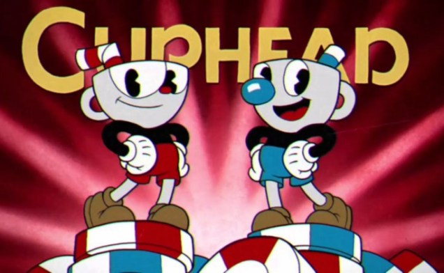 Cuphead title screen