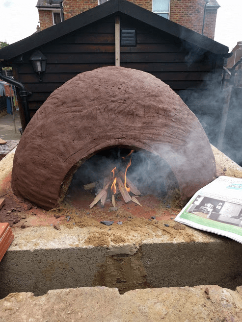 Fire Clay Mix : How to build a wood fired clay pizza oven living unplugged